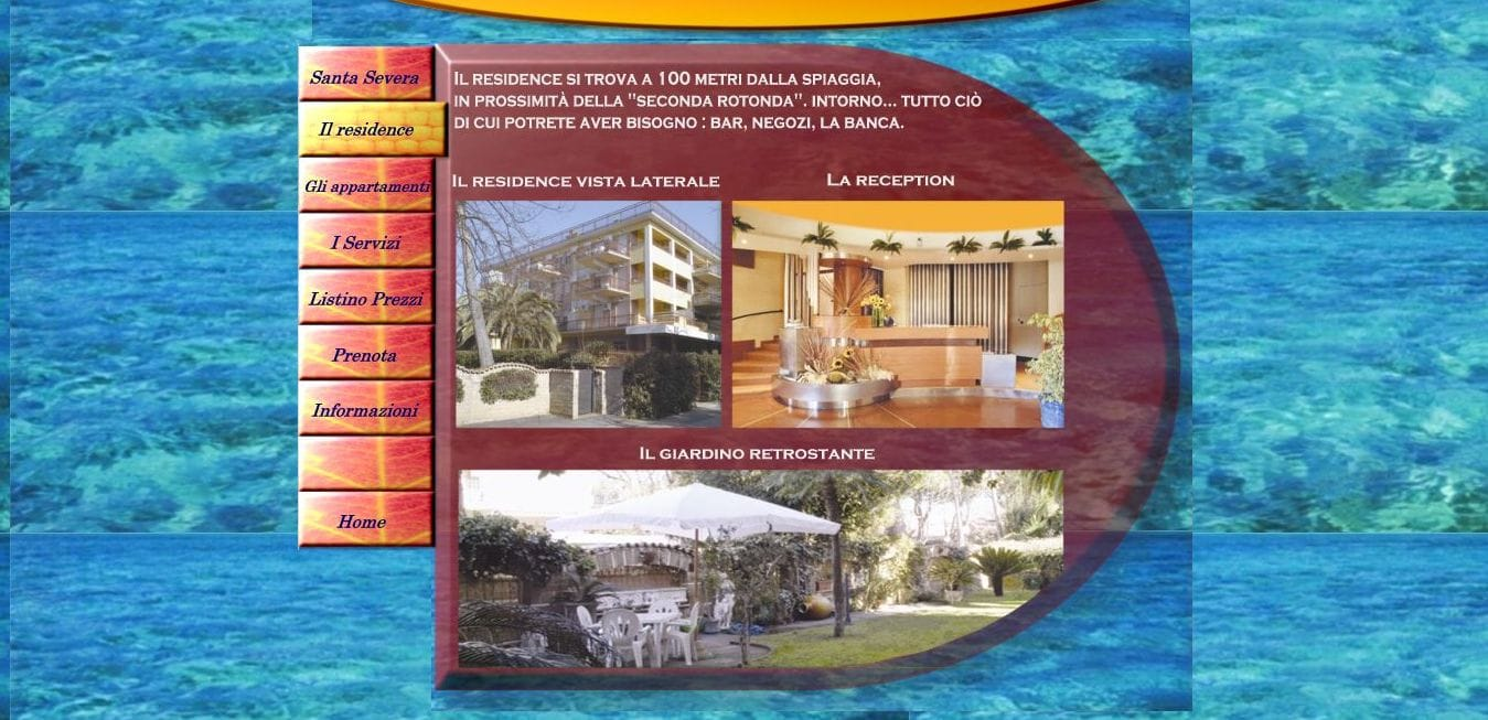 posizione residence Santa Severa
